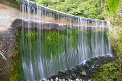 Birchville Dam Waterfall