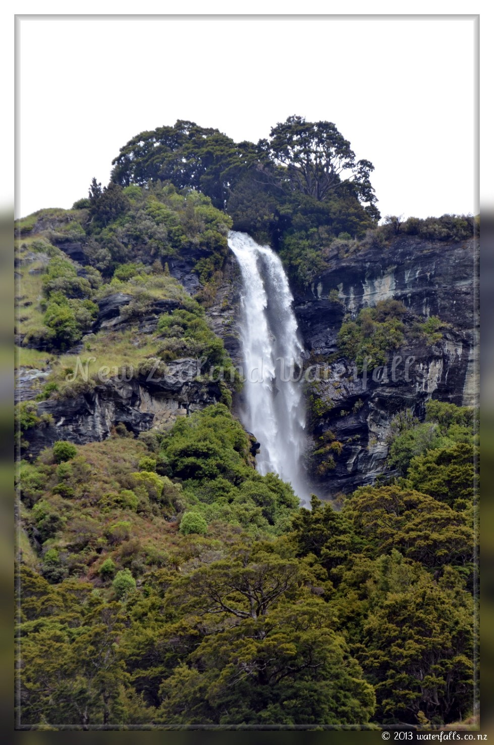 Brides Veil Waterfall