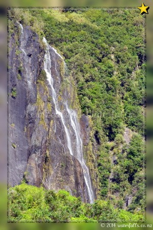 Franz Josef Parking Waterfall